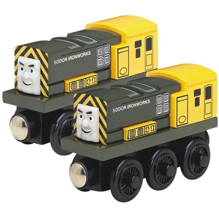 Learning Curve Thomas and Friends Wooden Railway - Iron 'Arry and Iron (Thomas And Friends Iron Arry And Bert)