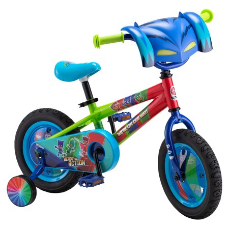 Disney PJ Masks: Catboy Kids Bike, 12-inch wheels, single speed, blue, on Disney Junior