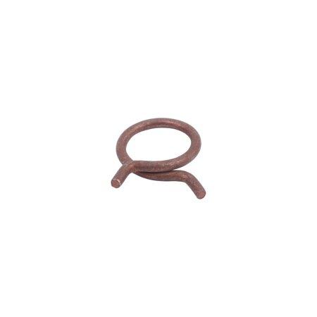 MACs Auto Parts  58-20455 Corbin Type Hose Clamp - 1-1/16 Diameter - Dull Cad & Red