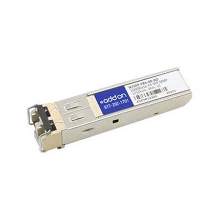 Addon N-tron Ntsfp-FXE-40 Compatible Taa Conforme 100Base-FX Sfp Transceiver (SMF, 1310nm, 40 km, L - image 1 de 1