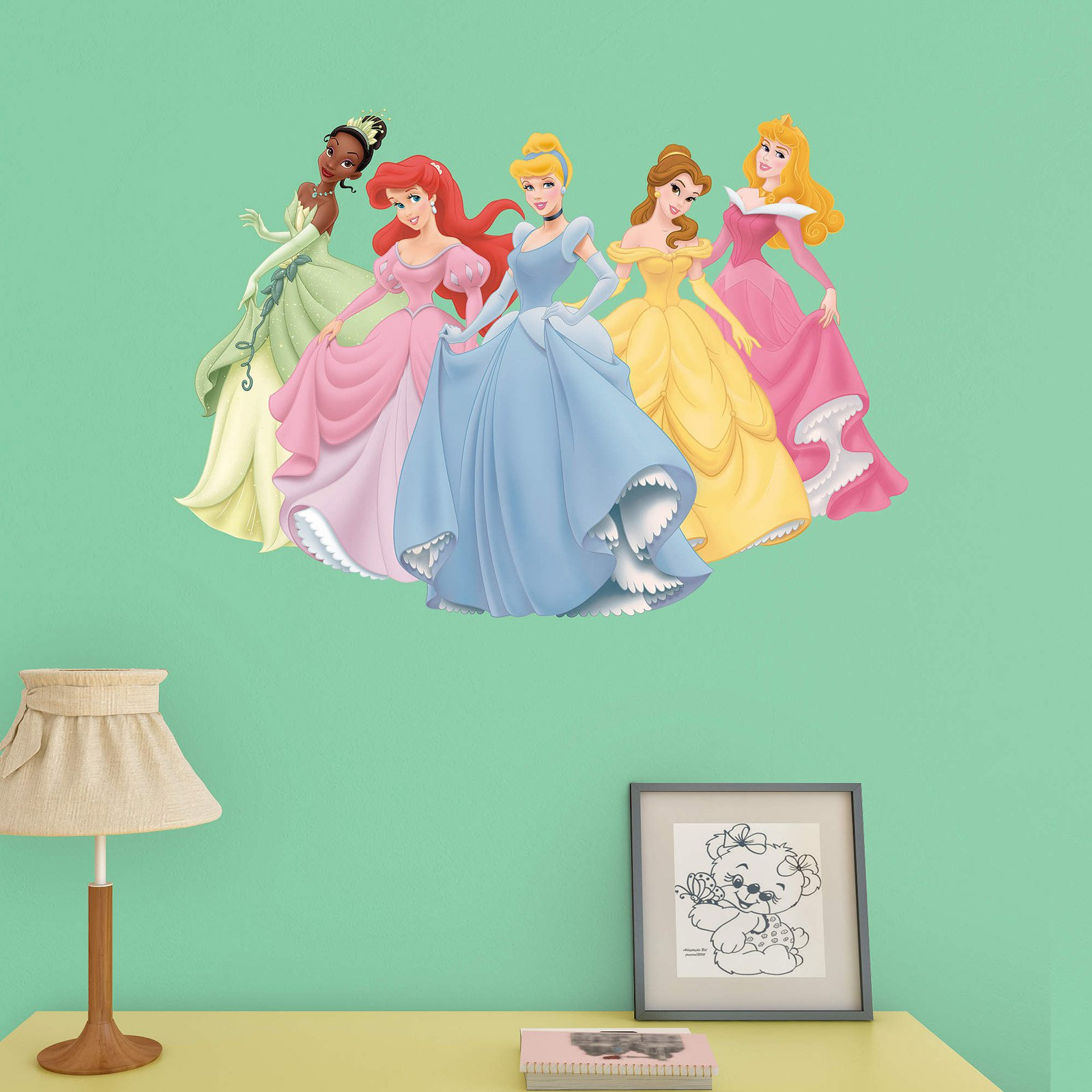 Fathead Junior Disney Princess