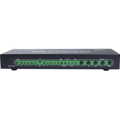 HDMI MATRIX 4X2 SUPPORTS 3D 4K 2CH 5.1CH ADV AUDIO MODE H...