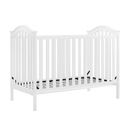 - Baby Relax Adelyn 2-in-1 Convertible Crib, White