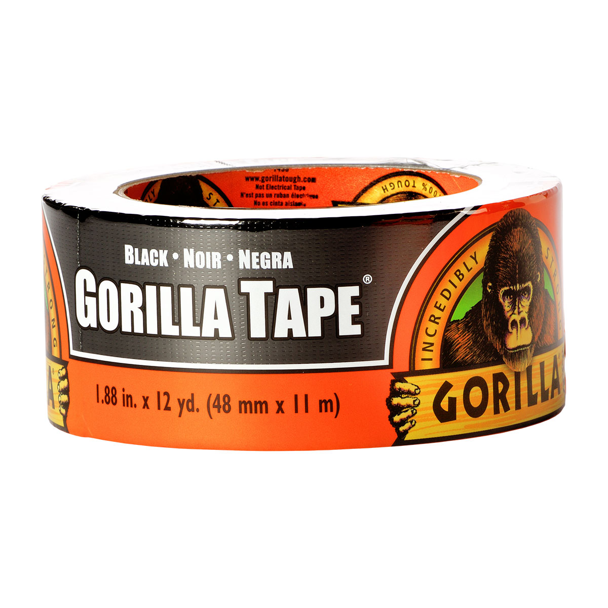 Gorilla Tape, 12yd Black