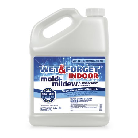 Wet and Forget Indoor Mold Mildew Disinfectant Cleaner, 1