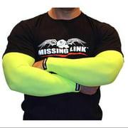 Missing Link Arm Pro Forever Ink'd Mens Compression Sleeve Tan/Green/Red