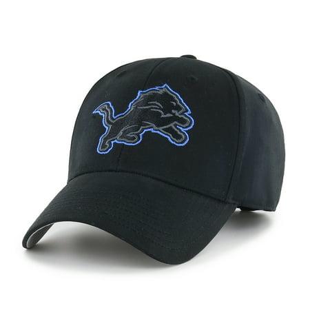 - NFL Detroit Lions Black Mass Basic Adjustable Cap/Hat by Fan Favorite