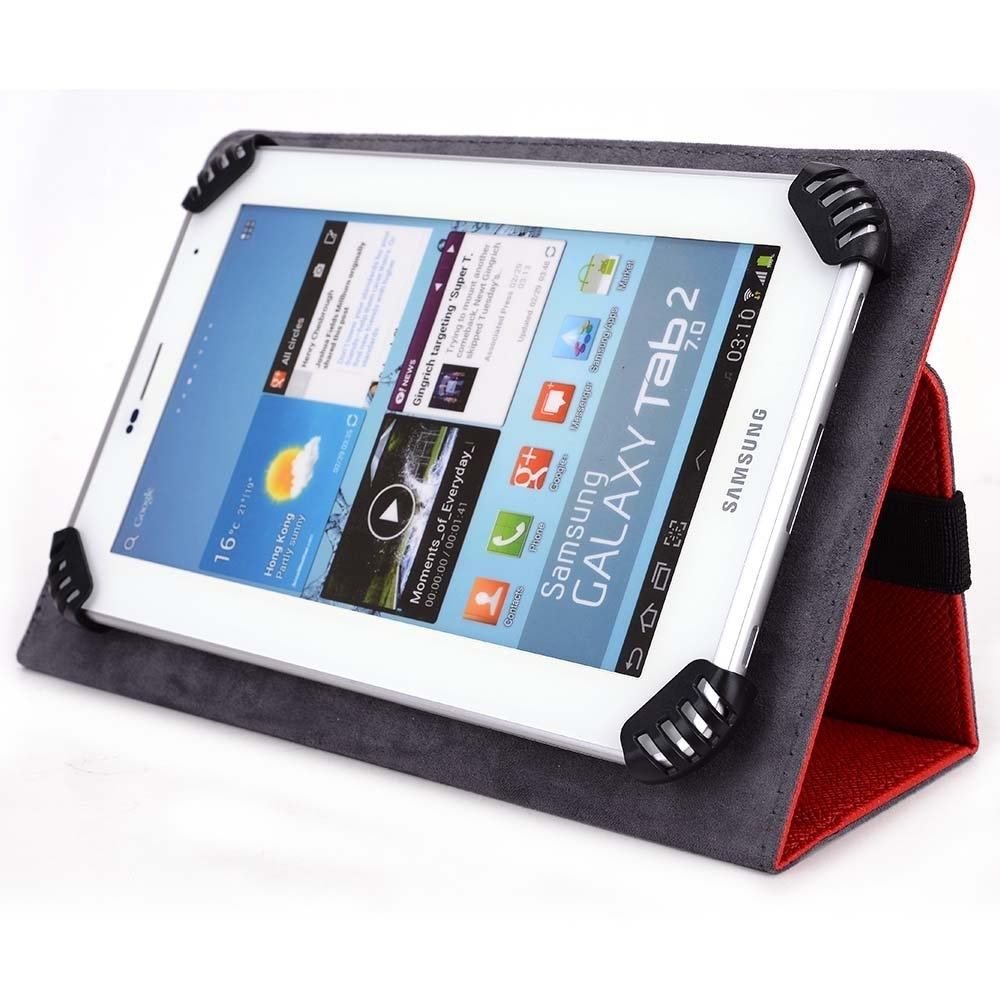 "D2 Pad 7"" Tablet Case - UniGrip Edition - RED"
