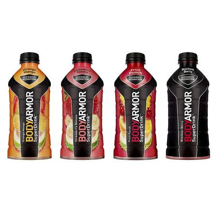 BodyArmor SuperDrink, Electrolyte Sport Drink, 4 Flavor Variety Pack, 28 Oz (Pack of 12)](Cool Halloween Virgin Drinks)