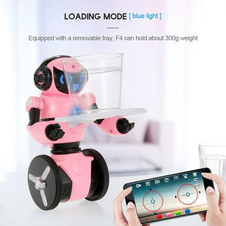 Wltoys F4 0.3MP Camera Wifi FPV APP Control Intelligent G-sensor Robot Super Carrier RC Toy Gift for Children Kids Entertainment - image 4 de 7
