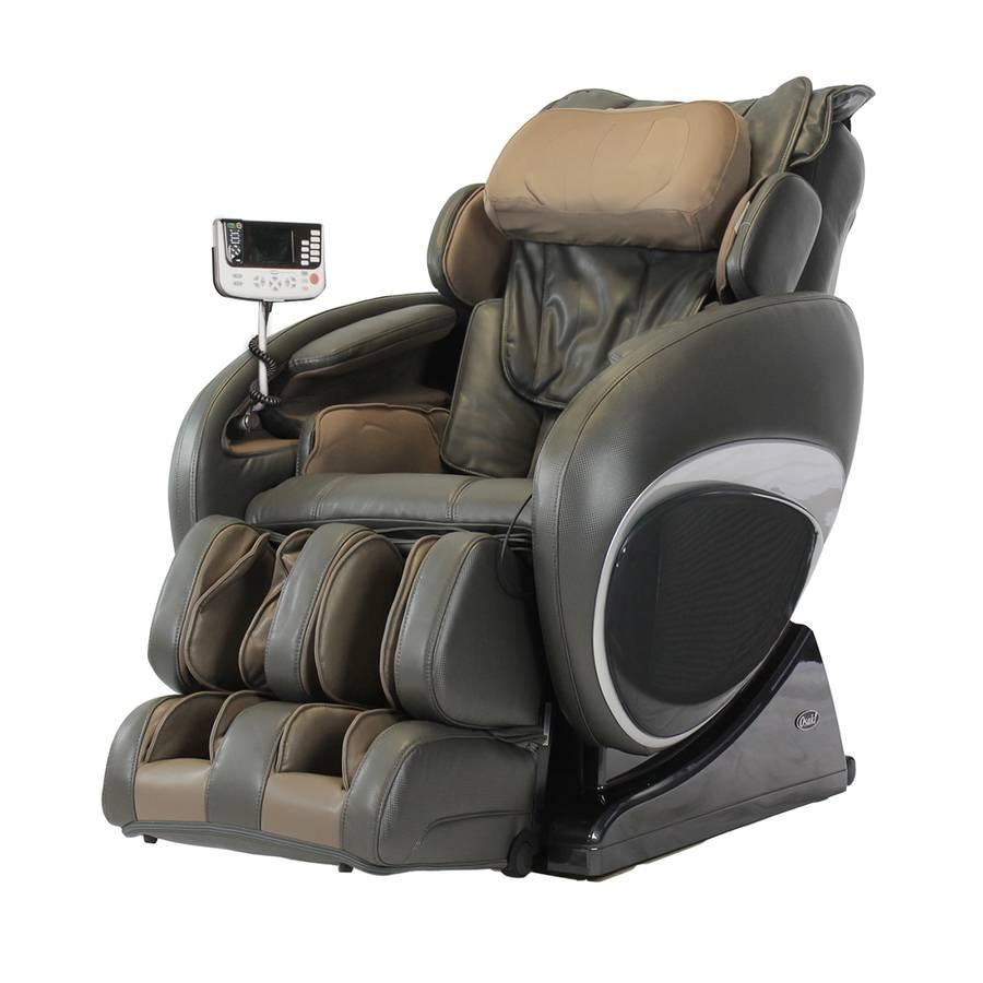 OSAKI OS-4000T Massage Chair with Six Unique Auto-programs - Charcoal
