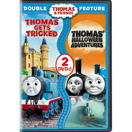 Thomas & Friends: Thomas Gets Tricked / Halloween Adventures (DVD) - Miranda Show Halloween