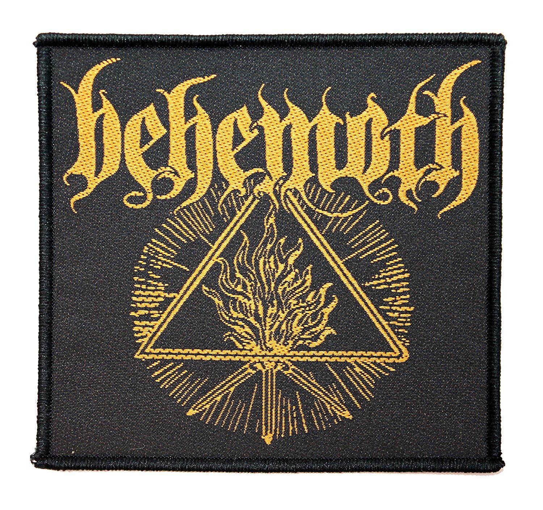 "Behemoth Satanist Album 3.5"" x 4"" Logo Art Black Metal Band Sew On Applique Patch"