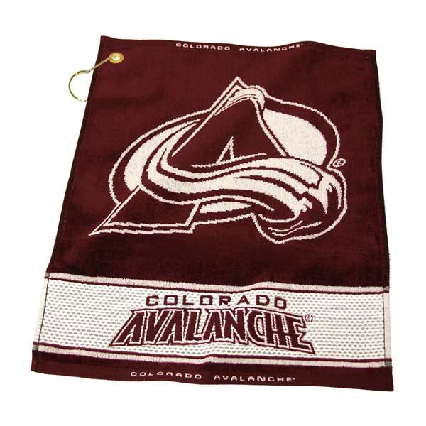 Team Golf NHL Colorado Avalanche Jacquard Woven Golf Towel