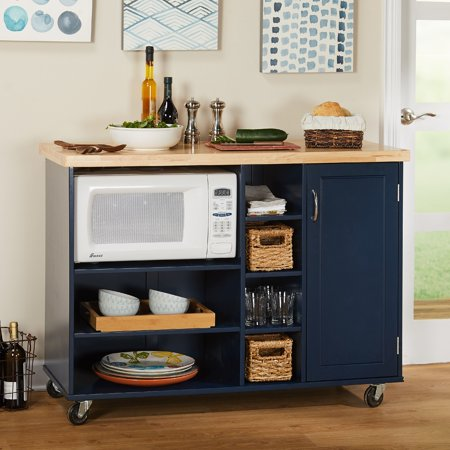 Kitchen Carts Islands Utility Tables Kitchen Cart Microwave ...