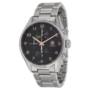 Tag Heuer Carrera Black Dial Stainless Steel Men's Watch CAR2014.BA0799