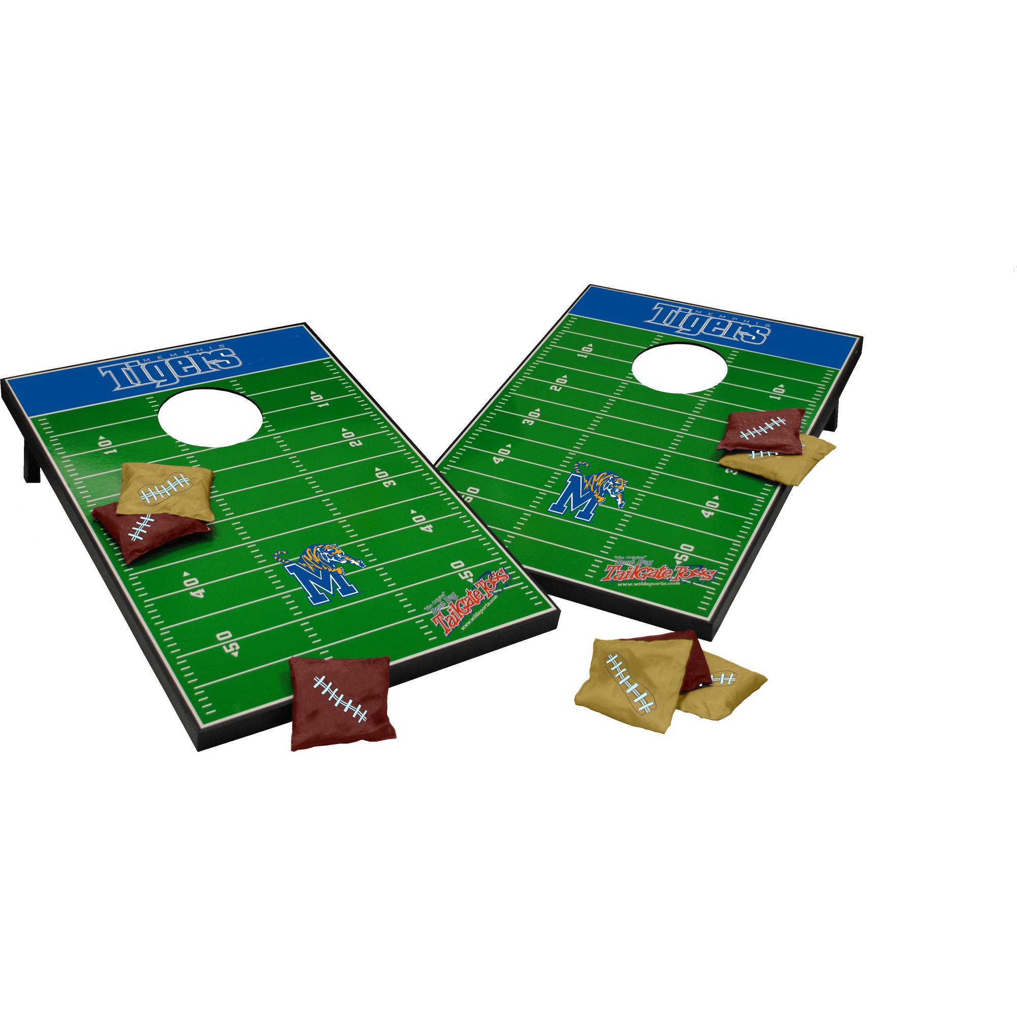 Wild Sports Collegiate Memphis 2x3 Field Tailgate Toss