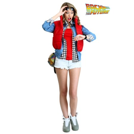 Women's Marty McFly Costume - Marty Mcfly Clothes