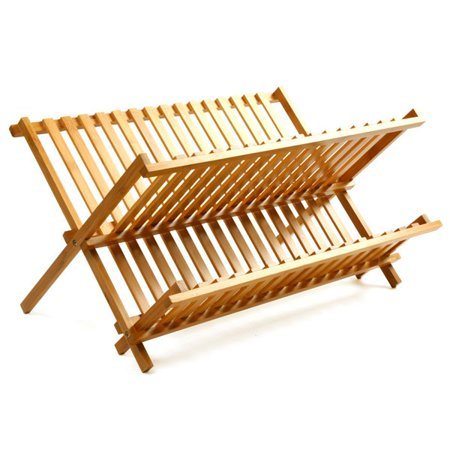 Best Dish Rack, Drying Bamboo Corner Dish Rack