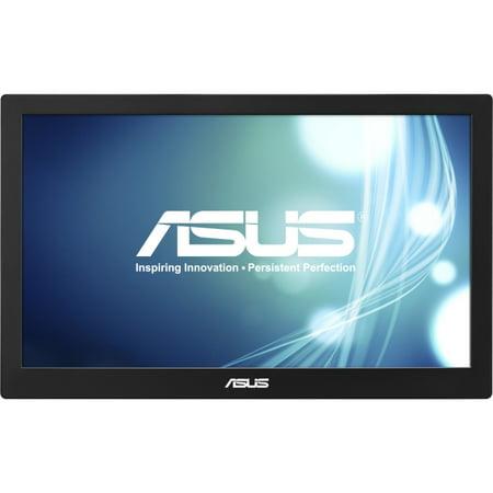 "Asus MB168B 15.6"" LED LCD Monitor - 16:9 - 11 ms - 1366 x 768 - 200 Nit - 500:1 - HD - USB - 5 W - Black, Silver - WEEE, RoHS"