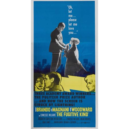 The Fugitive Kind POSTER Movie C Mini Promo (Halloween Hexe Kind)