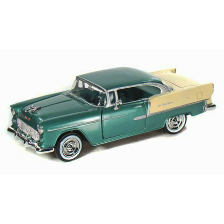 1955 Chevy Bel Air, Green - Showcasts 73229 - 1/24 scale Diecast Model Toy Car (Brand New, but NOT IN BOX) (1955 Chevy Bel Air)