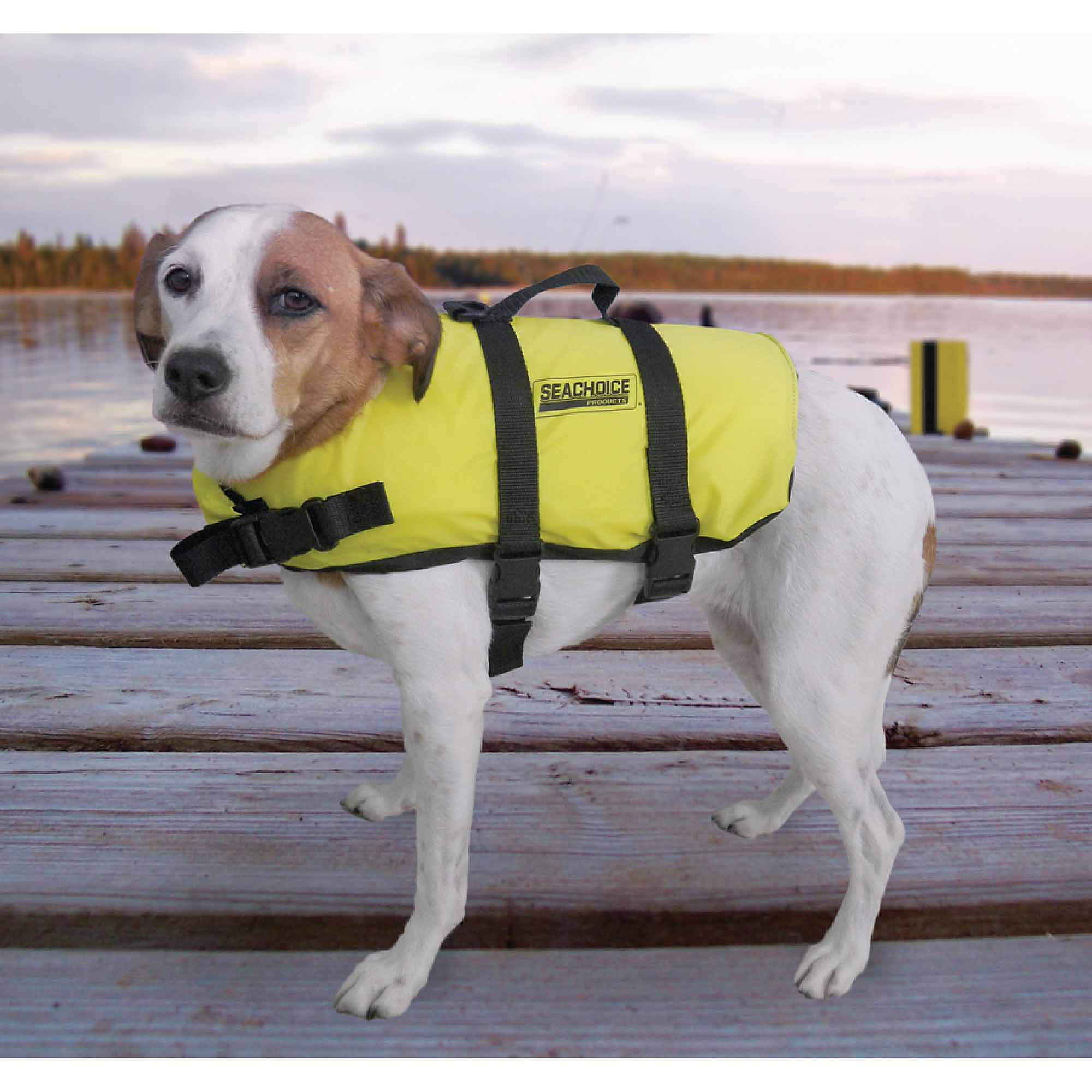 Seachoice Dog Life Vest, Yellow