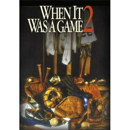 When It Was A Game 2 (DVD) (When Was Halloween Established)
