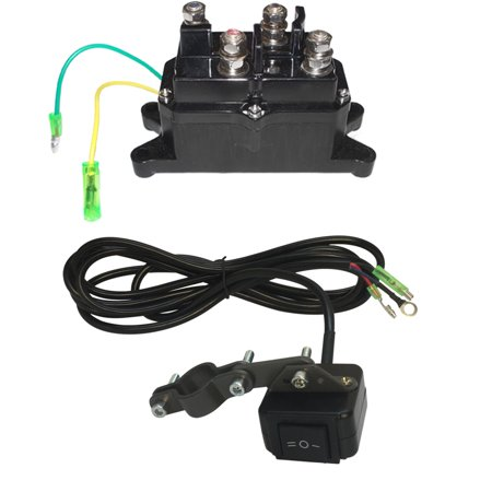 12v Ac Relay Switch - ROCKER SWITCH +SOLENOID RELAY Contractor Relay Reversing Motor ATV Winch 12V