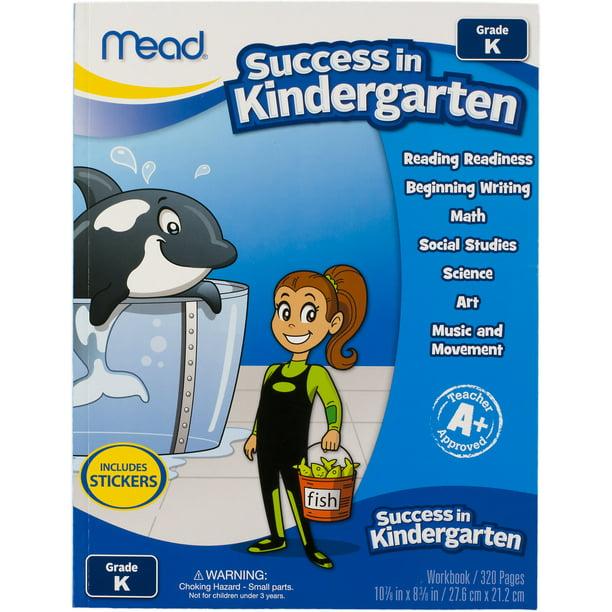 Mead Success In Kindergarten Workbook Walmart Com Walmart Com