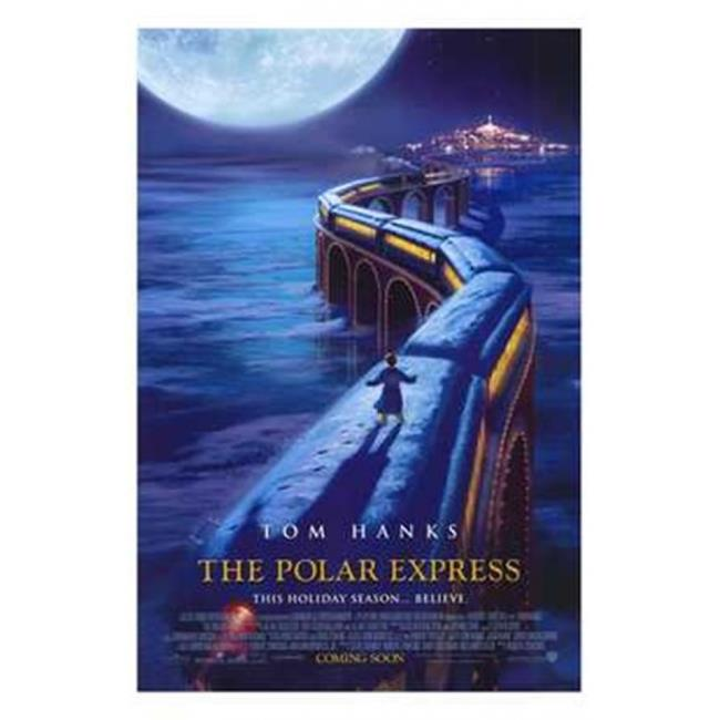 Pop Culture Graphics MOV243945 The Polar Express Movie Poster, 11 x 17 - image 1 of 1