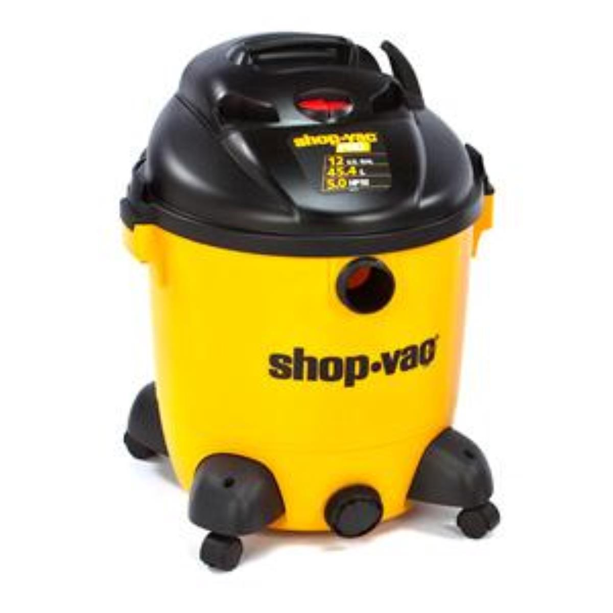 Shop-Vac 9651200 Pro Series Wet/Dry Vacuum, 12 Gallon