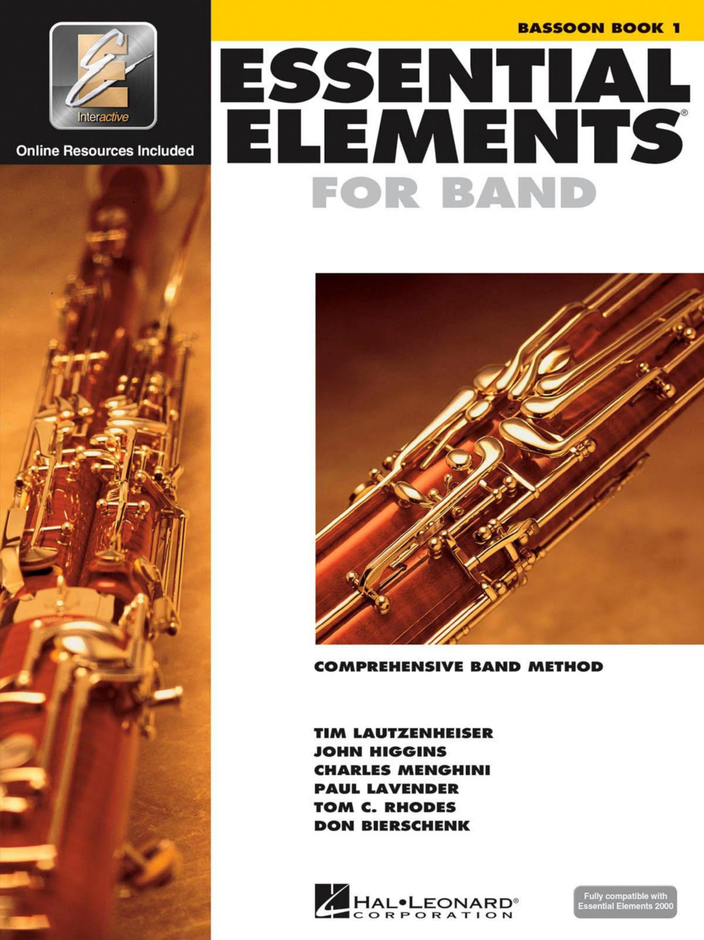Hal Leonard Essential Elements Bassoon 1 Book Online Audio by Hal Leonard