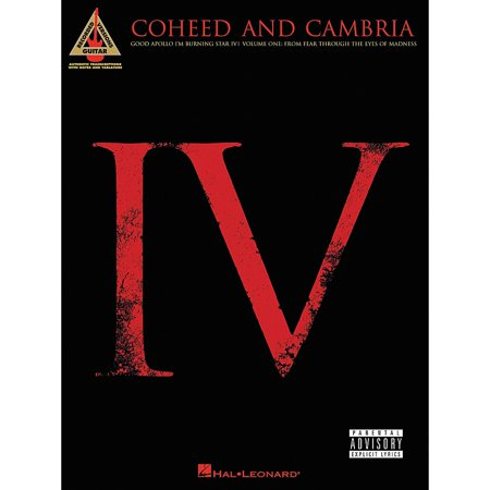 Hal Leonard Coheed and Cambria Good Apollo I'm Burning Star IV Volume 1 Guitar Tab (Coheed And Cambria Welcome Home Guitar Tab)