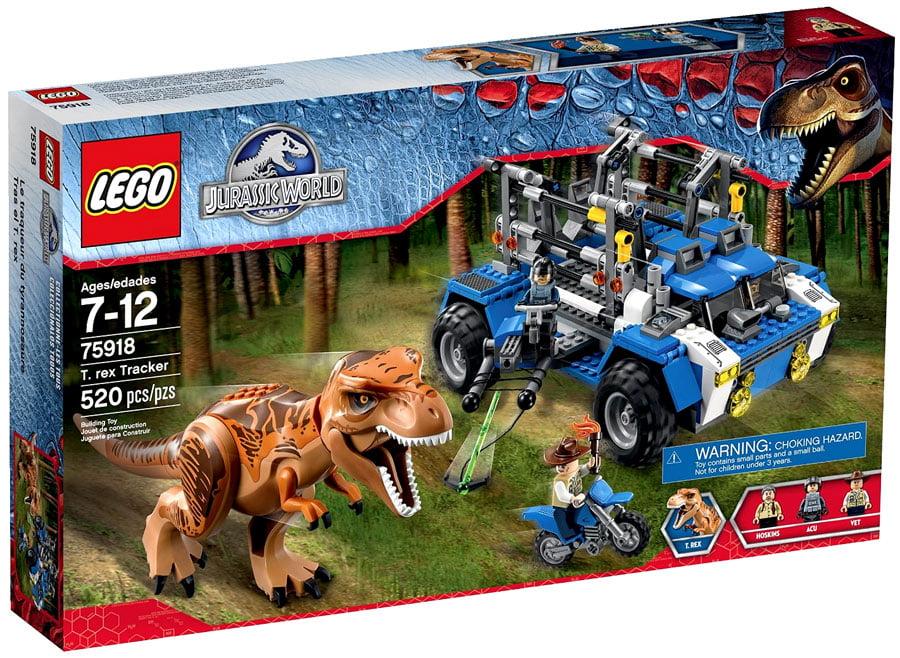 Jurassic World T. Rex Tracker Set Lego 75918 by LEGO Systems, Inc.