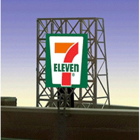 Miller Engineering 338910 N Z 7 Eleven Animated Rooftop Billboard Small
