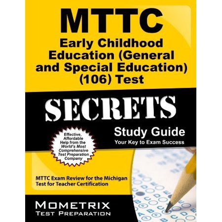 MTTC Early Childhood Education (General and Special Education) (106 ...