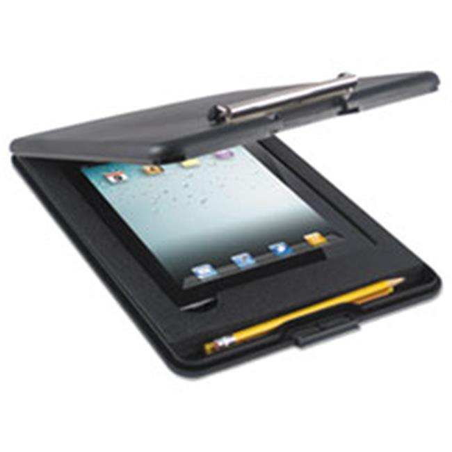 Saunders 64558 SlimMate Storage Clipboard with iPad 2nd Gen 3rd Gen Compartment, Black