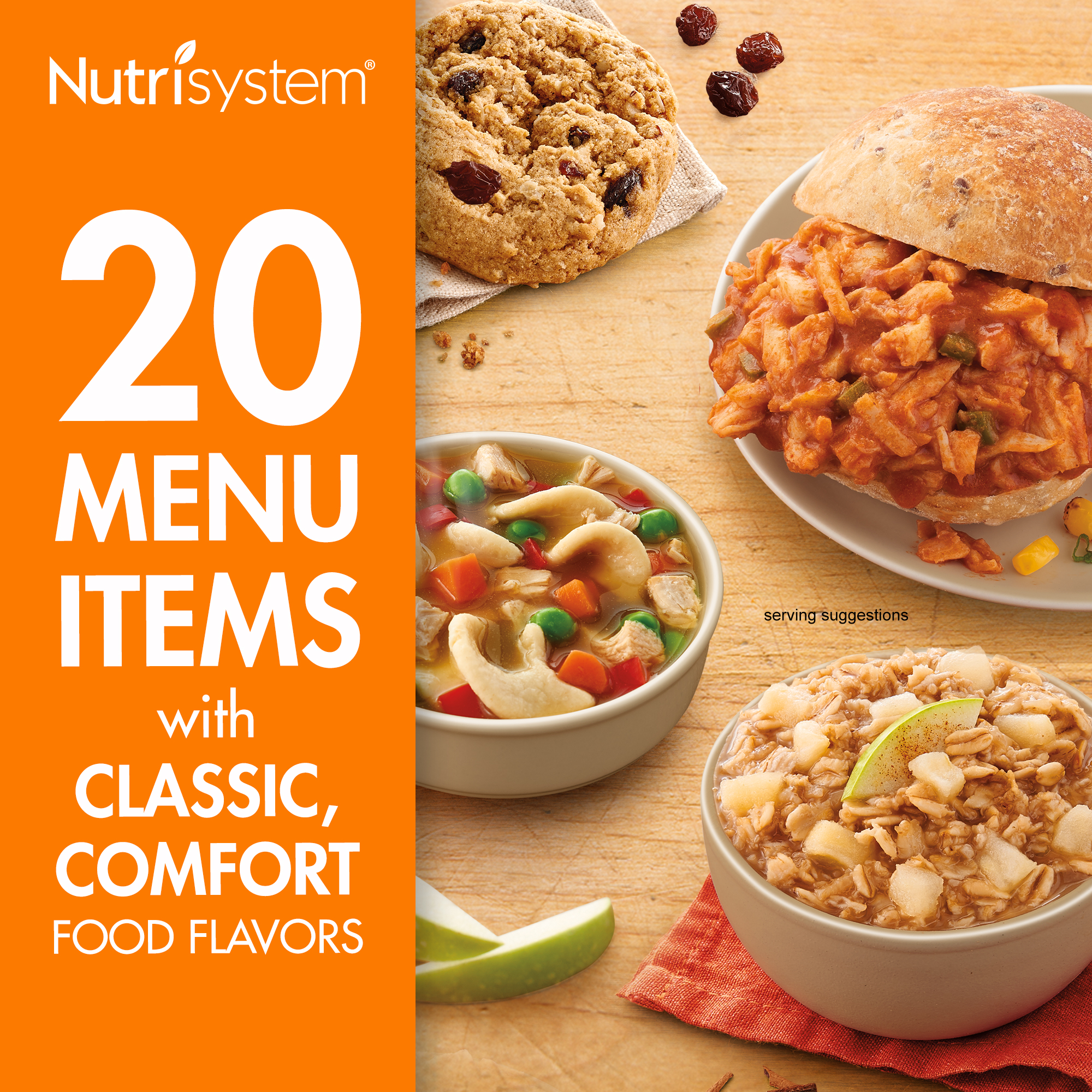 (2 Pack) Nutrisystem 5 Day Homestyle Weight Loss Kit, 4.5 lbs, 15 Meals and 5 Snacks