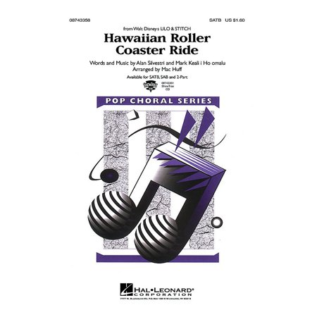 Hal Leonard Hawaiian Roller Coaster Ride (from Lilo and Stitch) 2-Part Arranged by Mac (Pics Of Stitch From Lilo And Stitch)