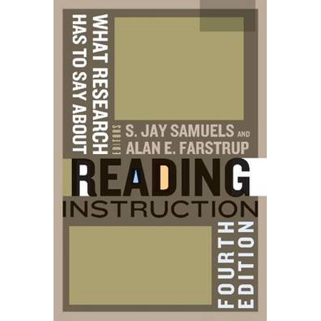What Research Has To Say About Reading Instruction Walmart