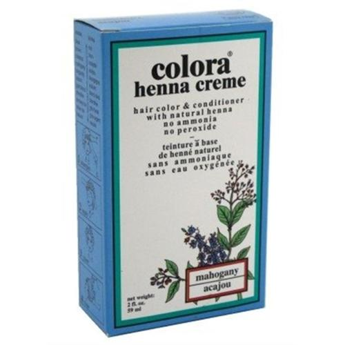 Colora Henna Creme Hair Color Mahogany, 2 oz (Pack of 2)