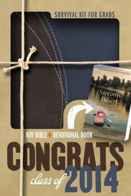2014 Survival Kit for Grads: Niv Bible + Devotional Book by