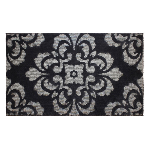 Jean Pierre Cut and Loop Portico 28 x 48 in. Textured Decorative Accent Rug