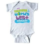 Inktastic Teacher Mommy Gift Newborn Short Sleeve Bodysuit Unisex White Newborn