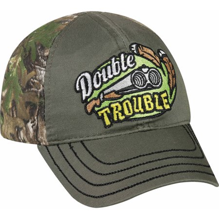 Toddler Boy Double Trouble Camouflage Hat, Toddler Adjustable Fit
