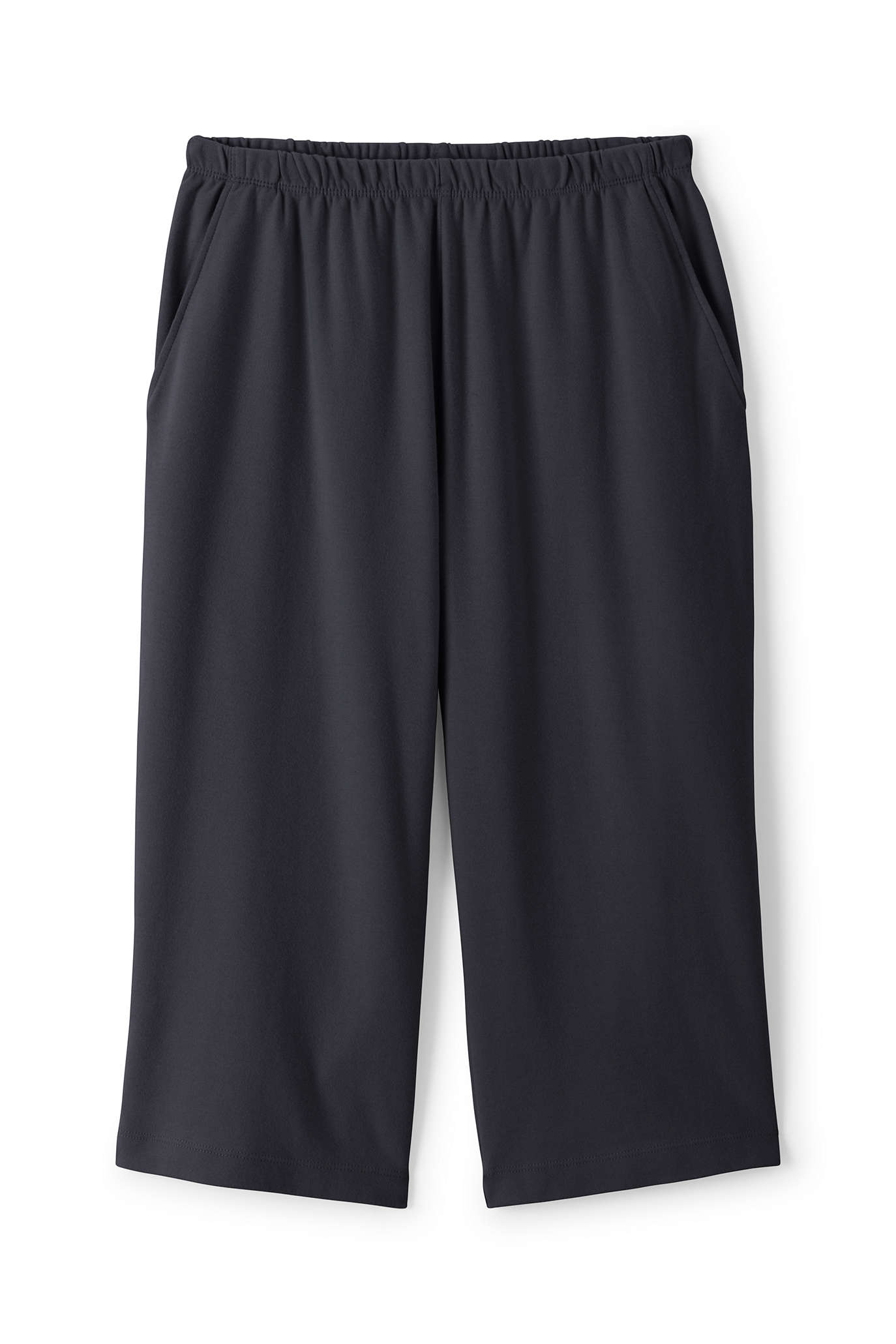 Women's Plus Size Sport Knit Capri
