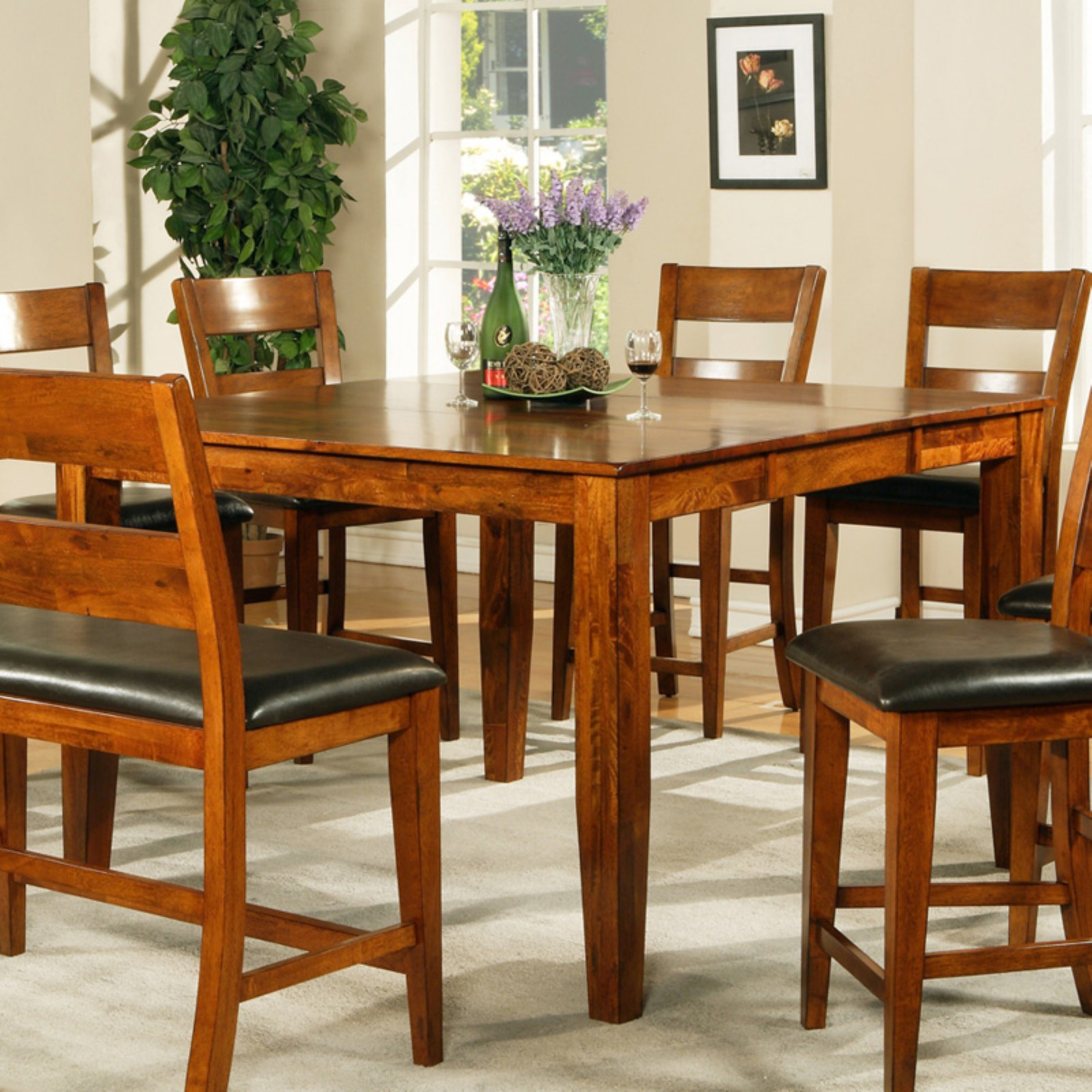 Steve Silver Mango Counter Height Dining Table