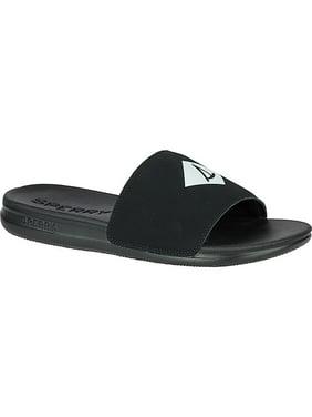 a37d9337bdccf Product Image Sperry Men s Intrepid Slide Sandal Black 8