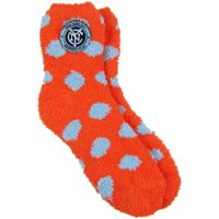 New York City FC ZooZatz Women's Fuzzy Dot Ankle Socks - No Size